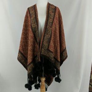 Pashmina wrap scarf shawl cashmere and silk boho